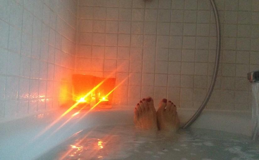 Selbstliebe – bei Sonnenschein ein Badnehmen
